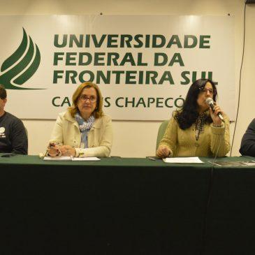 SITESPM-CHR participa da mesa de debate na UFFS