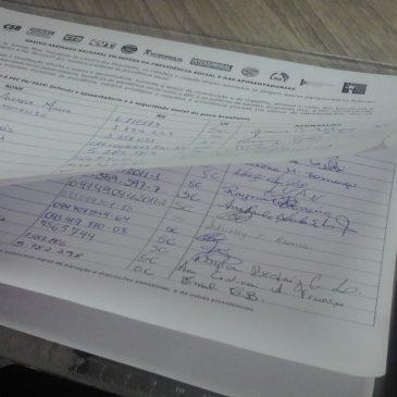SITESPM-CHR está embalado na coleta de assinaturas do abaixo-assinado
