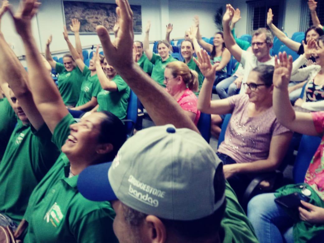 Servidores da prefeitura de Coronel Freitas decretam greve