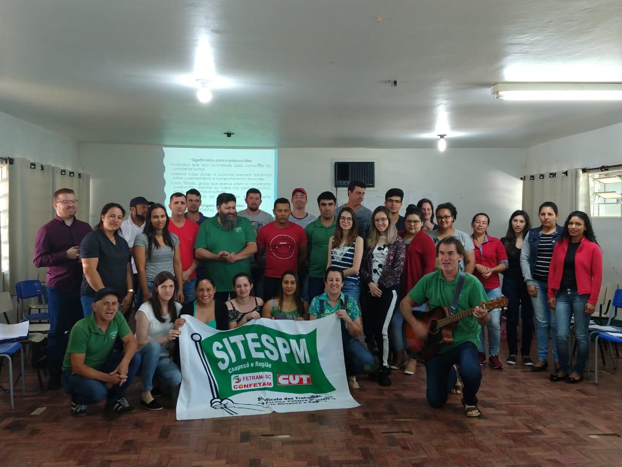 Curso Letras e Lutas é realizado com jovens da Base do SITESPM-CHR no município de Abelardo Luz