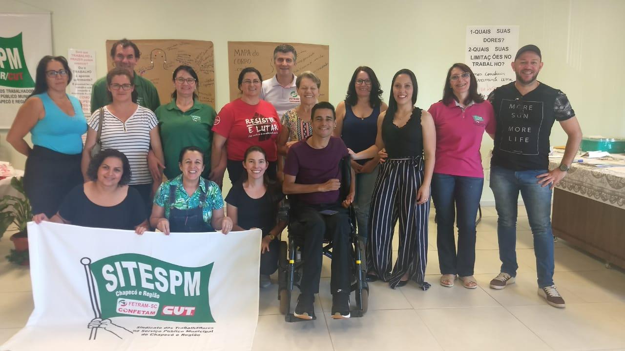 SITESPM-CHR reúne e ouve demandas dos/as Trabalhadores/as com Deficiência da Prefeitura de Chapecó