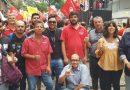 Ato da CUT-RS e centrais em Porto Alegre protesta contra reforma da Previdência de Bolsonaro