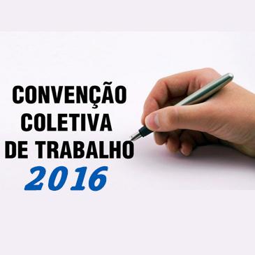 CONVENÇÃO COLETIVA DE TRABALHO 2016