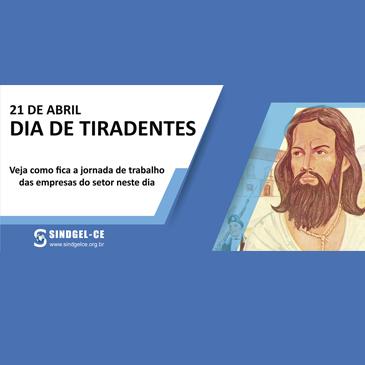 FERIADO DE TIRADENTES