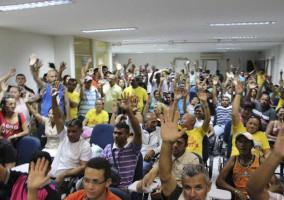 Asseio e conservação: campanha salarial 2017 aprovada por unanimidade
