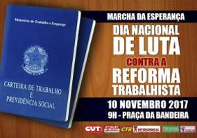 10 De novembro: dia nacional de luta