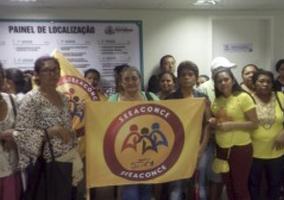 Em greve, trabalhadores da educação decidem ocupar prefeitura