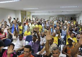 Fotos das últimas assembleias realizadas no estado em outubro