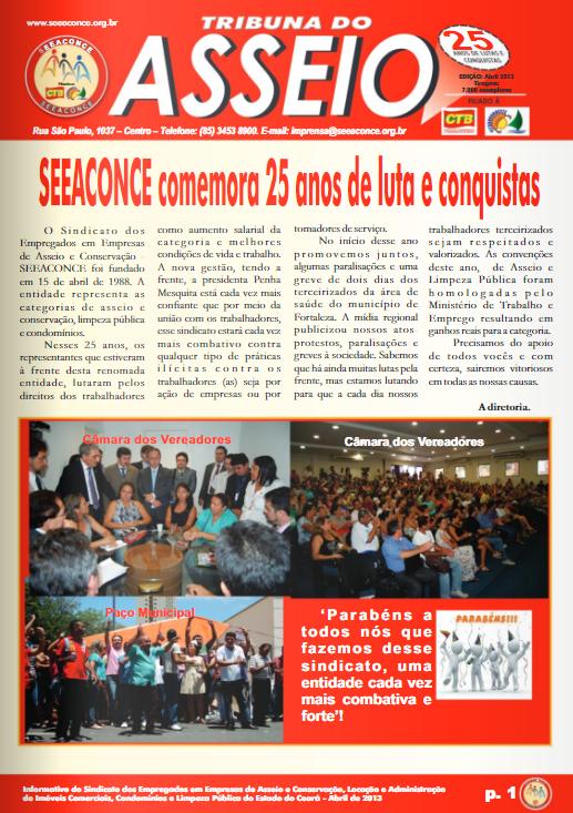 Jornal Asseio – Abril 2013