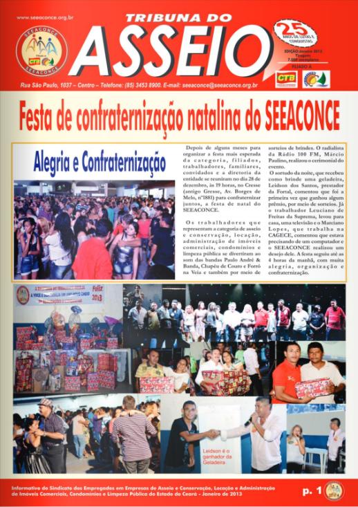 Jornal Asseio – Janeiro 2013