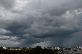 Meteorologia prevê chuvas e tempo nublado para o fim de semana