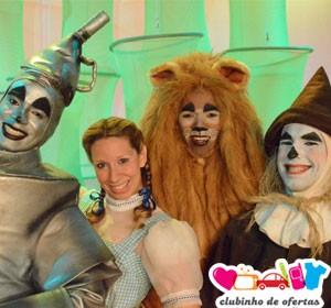 Clubinho de Ofertas - atrações infantis com desconto - O Mágico de Oz