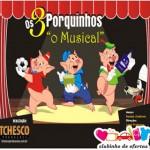 Clubinho de Ofertas - atrações infantis com desconto - Os Três Porquinhos