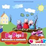 Clubinho de Ofertas - atrações infantis com desconto - Pig pig's brincando e cantanto