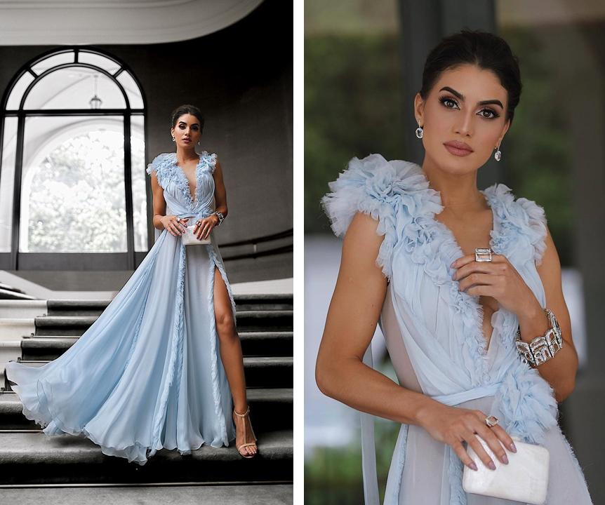 Camila Coelho usando bijuterias alto luxo