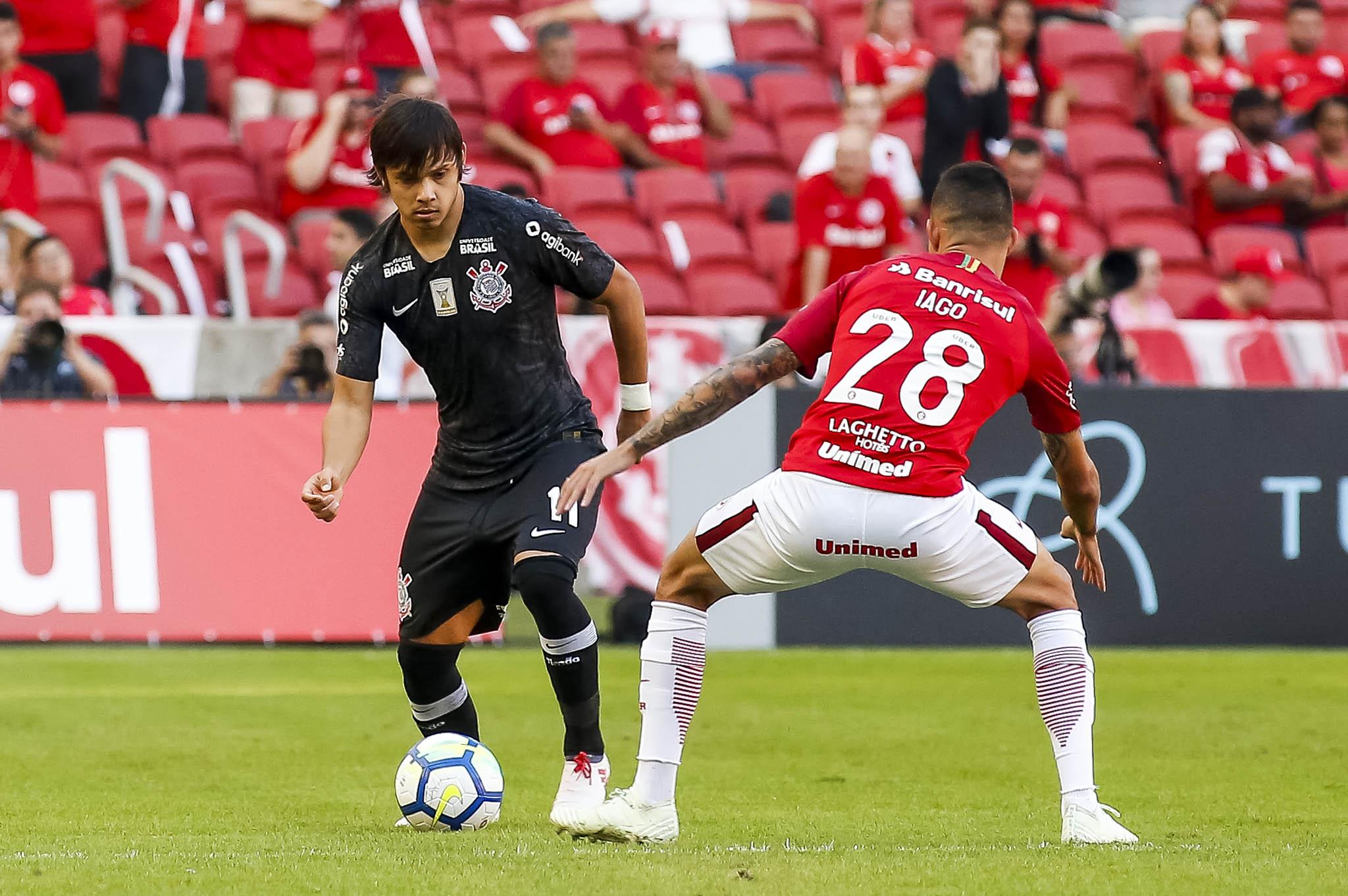 Corinthians perdeu para o Internacional no Beira-Rio