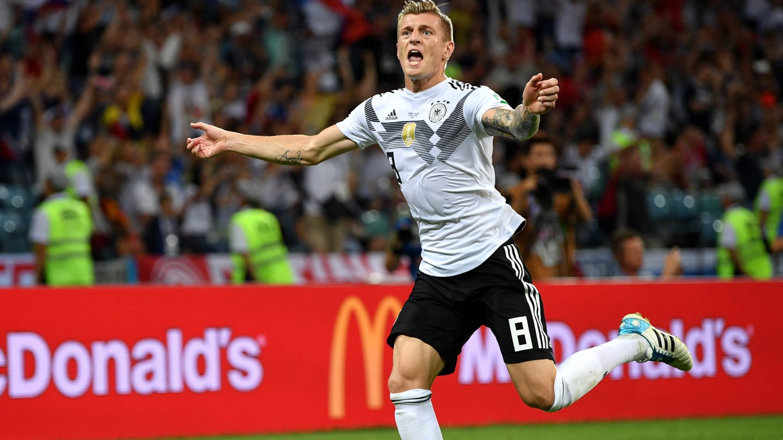 Kroos marcou no final e decretou a vitória dos alemães em cima da Suécia