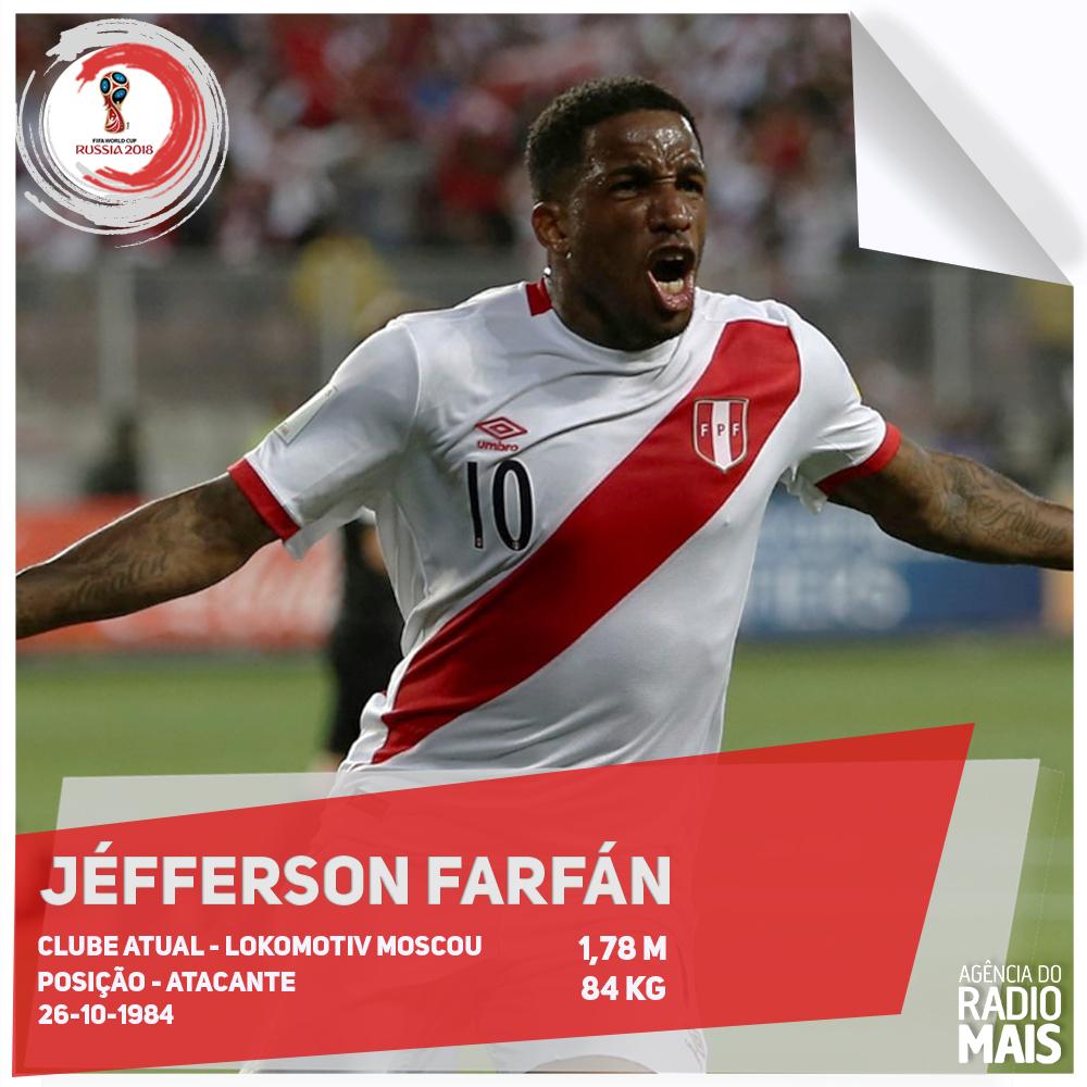 Sem Guerrero, Farfán assume a posição de principal jogador do Peru