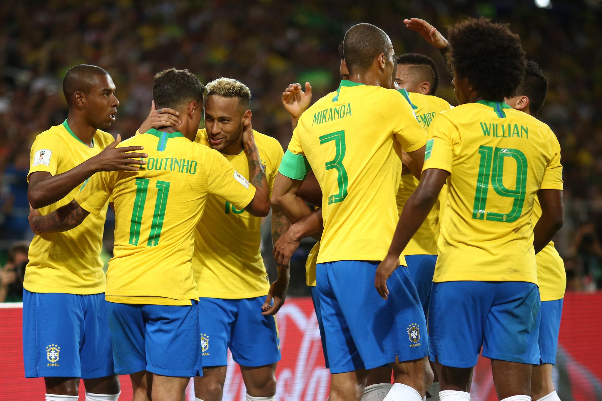 Brasil venceu sem sustos e encara México nas oitavas de final