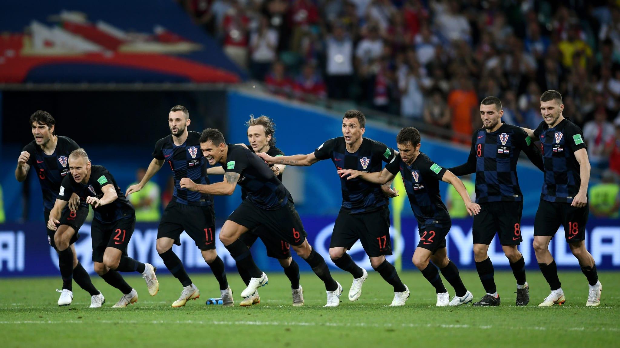 Croácia chega à sua segunda semifinal em Copas do Mundo