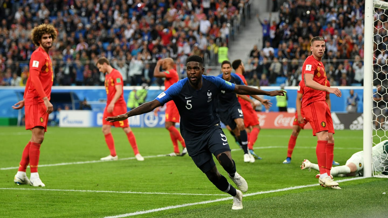 Umtiti marcou o gol da vitória da França em cima da Bélgica