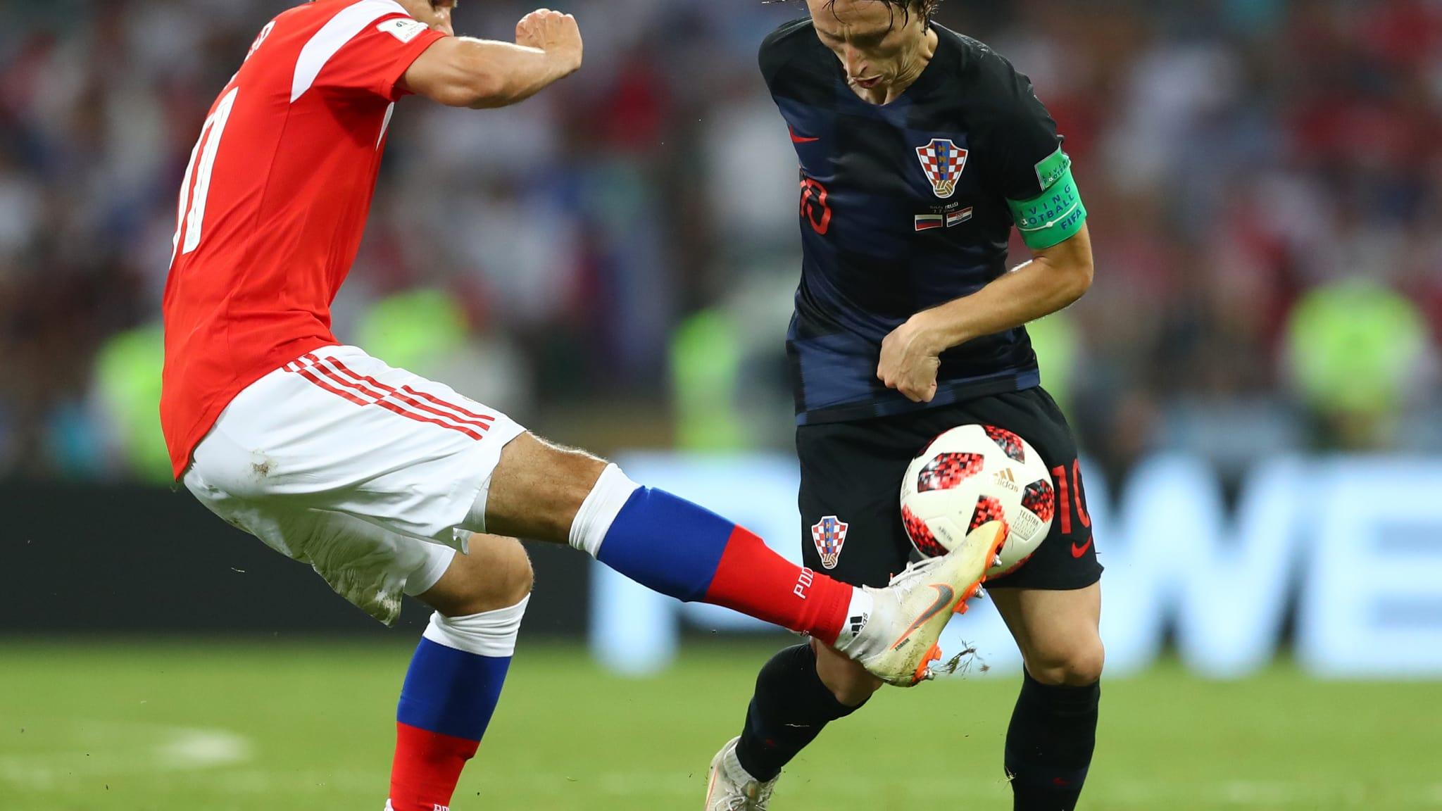 Croácia repete melhor campanha de sua história e tenta vaga inédita na final diante da Inglaterra