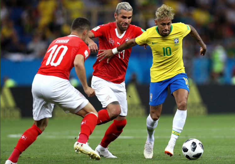 Os brasileiros bem que tentaram, mas não saíram do empate contra os suíços