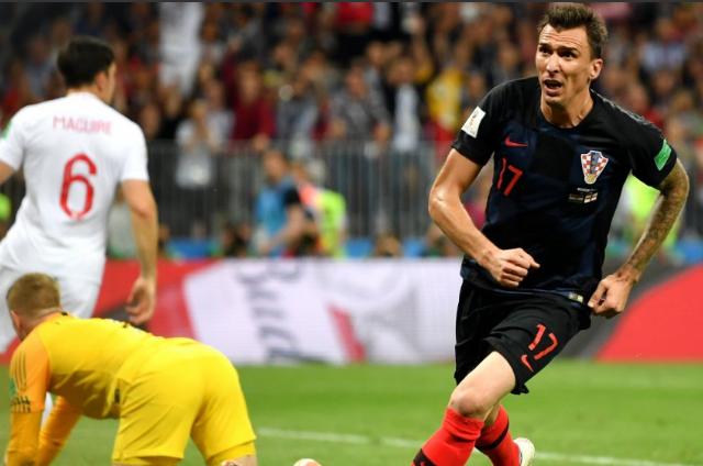 Mandzukic marcou o gol que garantiu os croatas na final