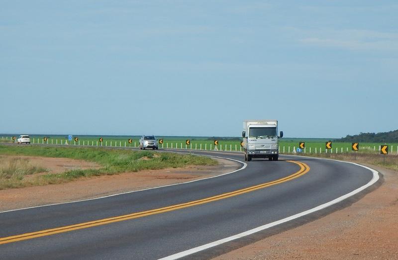 BR-163 é composta de corredores logísticos