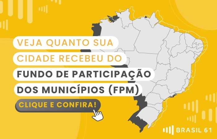 Confira aqui o FPM do seu município