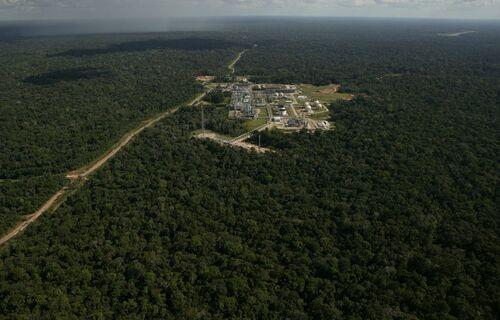 Complexo de Urucu, no Amazonas/ foto: Agência Petrobras