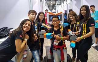 Equipe Los Atômicos do SESI Araras ficou em 2º lugar no Torneio Nacional SESI de robótica  / Foto: arquivo pessoal
