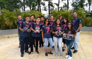 Equipe 7th Connection vai disputar Torneio de Robótica da FLL | Crédito: Divulgação SESI