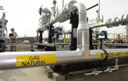 Gás natural. Foto: Agência Brasil