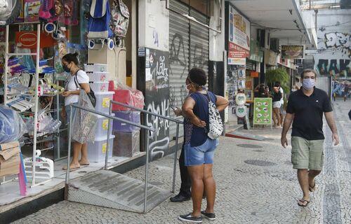 Comércio de Rua. Foto: Agência Brasil.