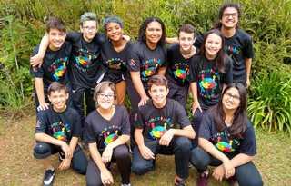 Equipe de robótica da Escola Municipal Coronel Durival Brito e Silva