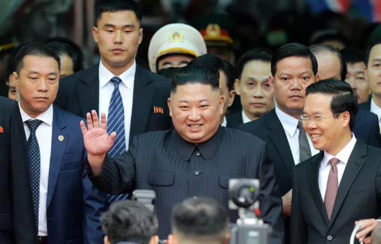 Kim Jong-un no Vietnã