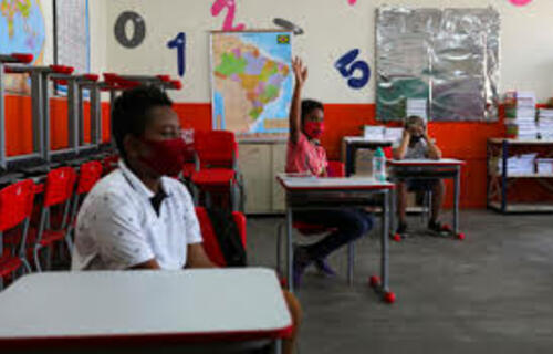 Sala de aula. Foto: crub.org.br