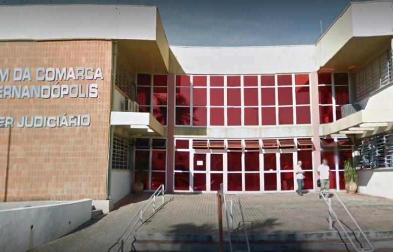 Fórum de segurança de Fernandópolis / Foto: reprodução Google