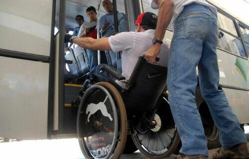 Pessoa com deficiência. Foto: Agência Brasil.