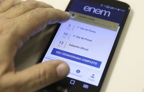 Aplicativo do Enem. Foto: Agência Brasil