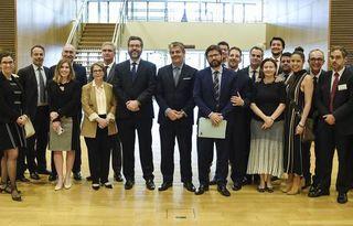 Foto: Delegação brasileira em Bruxelas para o fechamento do acordo de livre comércio entre Mercosul e União Europeia - Ministério das Relações Exteriores