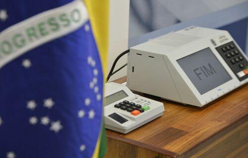 Urna Eletrônica. Foto: Agência Brasil