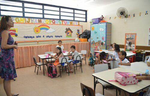 Educação infantil. Foto: Agência Brasil.