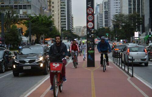 Mobilidade urbana. Foto: Agência Brasil.