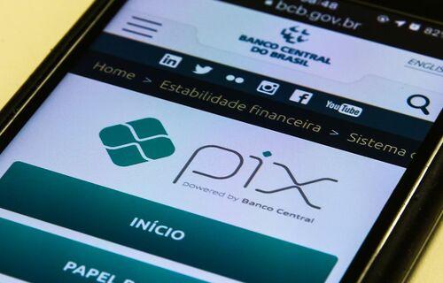 Pix. Foto: Agência Brasil.