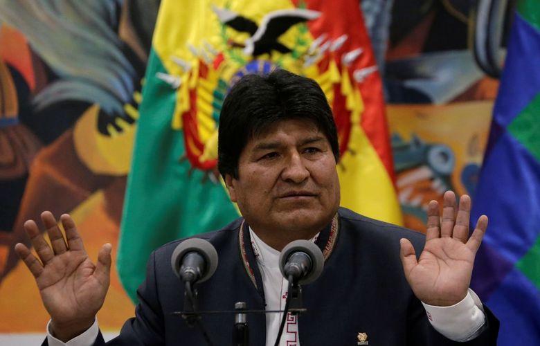 Internacional: Em pleito polêmico, Evo Morales é reeleito presidente da Bolívia com 47% dos votos