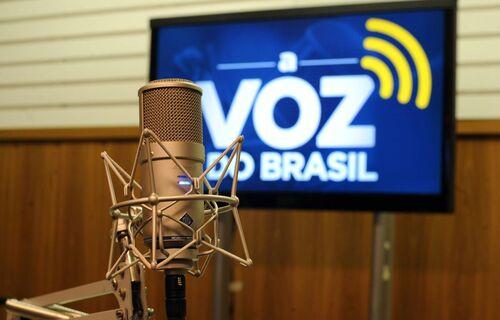 Voz do Brasil. Foto: Agência Brasil.