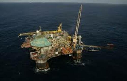 Plataforma de petróleo. Foto: Agência Brasil