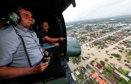 Enchente Acre. Foto: Alan Santos/PR